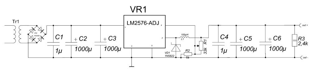 BP-LM2576-adj-w