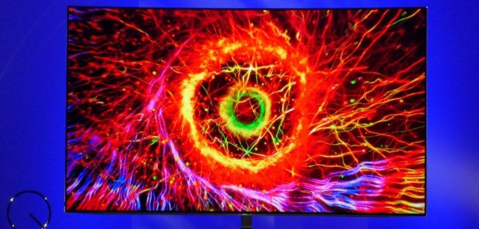 Телевидение будущего: Samsung представила QLED-телевизоры